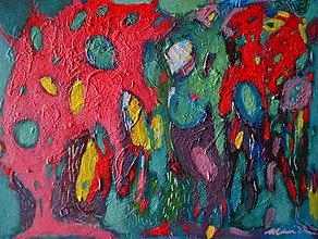 Obrazy - Les, čo farby mení - 8170966_