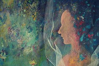 Obrazy - Víla, ktorej zhoreli vlasy i sny, no nevzdala to - 8171052_