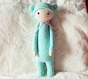 Hračky - modrý medvedík (bina the bear) - 8168480_