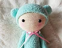 Hračky - modrý medvedík (bina the bear) - 8168488_