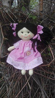 Hračky - Handrová bábika Ruženka - 8168333_