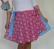 """Sukne - Sukienka mašľová """"Vyskladaj si ma"""" 24v3 - 8173003_"""