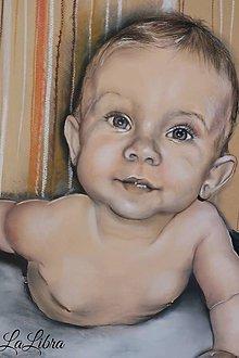 Kresby - Portrét-chlapček - 8172601_