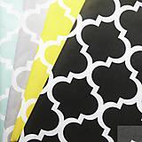 Textil - veľké sivé maroko, 100 % bavlna, šírka 160 cm, cena za 0,5 m - 8172253_