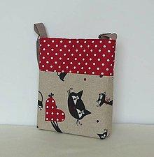 Detské tašky - Detská taška mačky č.1 - 8173974_