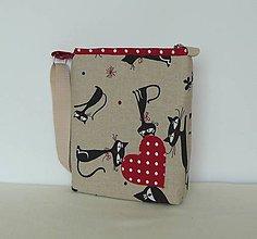 Detské tašky - Detská taška mačky č.2 - 8173979_