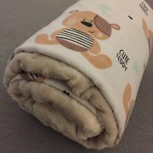 Textil - letná deka macík - 8174140_