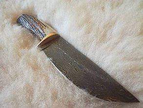 Nože - Krásne damaškové nože - 8171701_