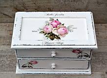 - Vintage roses šperkovnica - 8171962_