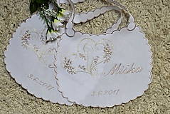 - svadobné podbradníky-vyšívané - 8172493_