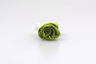 Pierka - Pierko zelená ruža - 8172163_
