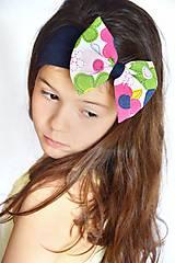 Detské doplnky - čelenka  Colorful flowers - 8173651_