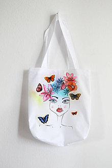 Nákupné tašky - Víla na nákupnej taške - 8172655_