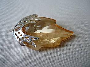 Náhrdelníky - SW Leaf - 8175334_