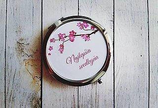 Darčeky pre svadobčanov - Zrkadielko - 8176823_