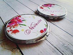 Darčeky pre svadobčanov - Svadobné zrkadielko - 8176841_