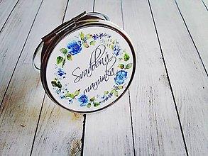 Darčeky pre svadobčanov - Zrkadielko - 8176899_