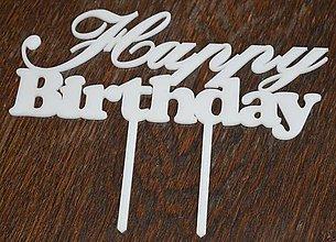 "Nezaradené - zápich ""Happy Birthday"" - 8176069_"