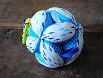 Hračky - Montessori lopta Rybky - 8174491_