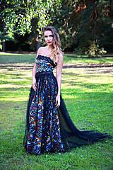 Šaty - Farbisto pútavé poločenské šaty Moya - 8175551_