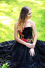 Šaty - Neobyčajné špoločenské šaty Monique - 8176220_