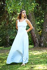 Šaty - Svadobné/spoločenské šaty s ľadovými kvetmi Muriel - 8176338_