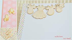 Papiernictvo - Detský fotoalbum - pre dievčatko - 8174574_