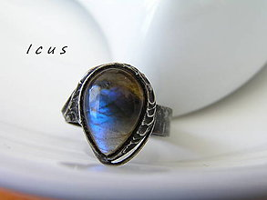 Prstene - Prsteň Labradorit - Loreol - 8174390_
