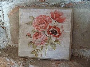 Obrázky - vintage ružičky - 8174713_
