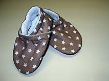Topánočky - látky na capačky - 8175607_