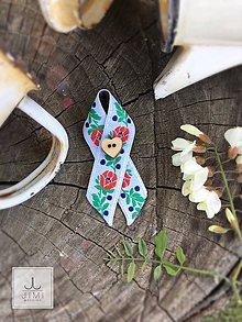 Pierka - Folklórne svadobné pierko jednoduché - 8176963_
