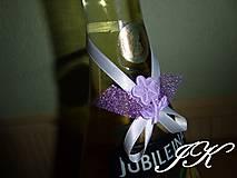 Drobnosti - Mašličky na fľaše - 8175268_