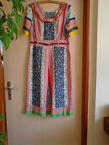 Šaty - Kvetka - retro šaty - 8175538_