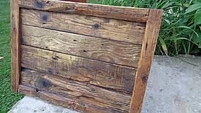 Rámiky - Rám zo starého dreva - veľký - 8176445_