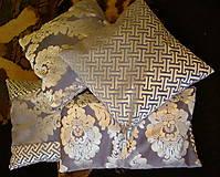 Úžitkový textil - DEKOratívnY vankúŠ - SadA - 8177768_