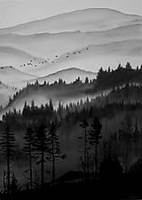 Obrazy - les - olejomaľba - 8177581_