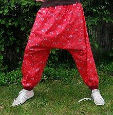Nohavice - Harémové kalhoty - 8179086_
