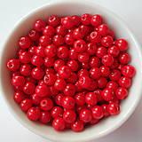 - Vosk.perly 4mm-červená-60ks - 8179414_