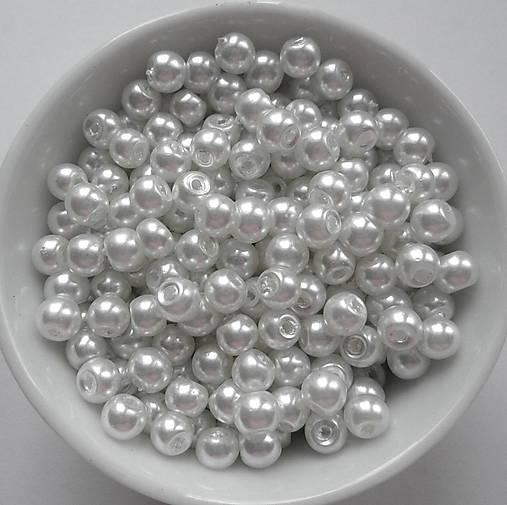 Voskované perly 4mm-60ks