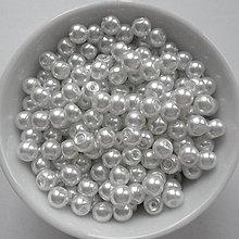 Korálky - Voskované perly 4mm-60ks - 8179408_