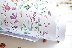 Papiernictvo - Baliaci papier Od súmraku do úsvitu, 5 ks+tubus - 8177945_