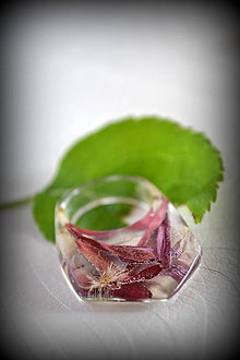 Prstene - Prsteň Lupene gerbery (2193 A) - 8177336_