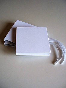 Papiernictvo - CD obal snehobiely - 8177742_