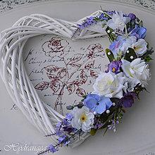 Dekorácie - Svadobné srdiečko - 8179128_
