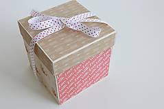 Papiernictvo - Svadobná krabička na peniaze - 8177349_