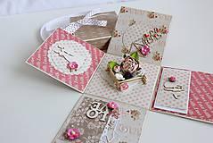 Papiernictvo - Svadobná krabička na peniaze - 8177350_