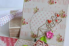 Papiernictvo - Svadobná krabička na peniaze - 8177352_