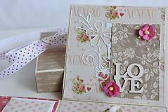 Papiernictvo - Svadobná krabička na peniaze - 8177354_