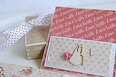 Papiernictvo - Svadobná krabička na peniaze - 8177355_