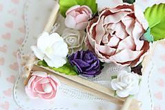 Papiernictvo - Svadobná krabička na peniaze - 8177358_